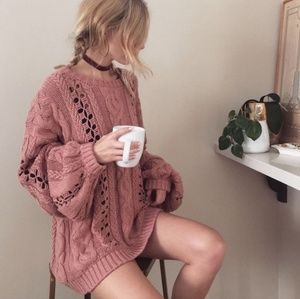 For Love and Lemons Knitz Wythe sweater